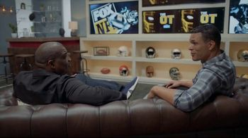 Lowe's TV Spot, 'The OT on FOX: Built My Home Into a Stadium' Featuring Curt Menefee, Tony Gonzalez - Thumbnail 9