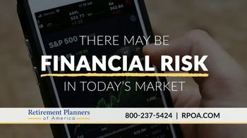 Retirement Planners of America TV Spot, 'Financial Risk' - Thumbnail 1