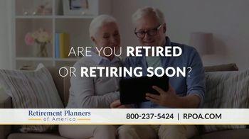 Retirement Planners of America TV Spot, 'Financial Risk'