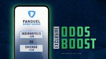FanDuel Sportsbook TV Spot, 'Sunday Showdown: Indianapolis vs. Chicago'