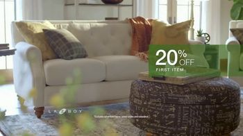 La-Z-Boy Double Discount Days TV Spot, 'Special Piece: 20% Off First Item and 40% Off Second Item' - Thumbnail 4