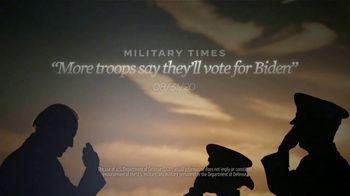 Biden for President TV Spot, 'Service Members' - Thumbnail 8