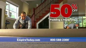 Empire Today 50-50-50 Sale TV Spot, 'Get Big Savings on Beautiful New Floors'