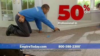 Empire Today 50-50-50 Sale TV Spot, 'Get Big Savings on Beautiful New Floors' - Thumbnail 8