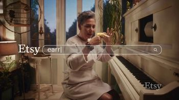 Etsy TV Spot, 'Gift Like You Mean It: Earrings' Song by Wolfgang Amadeus Mozart - Thumbnail 1
