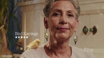 Etsy TV Spot, 'Gift Like You Mean It: Earrings' Song by Wolfgang Amadeus Mozart - Thumbnail 4