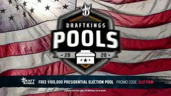 DraftKings TV Spot, 'Presidential Election Pool: $100,000' - 47 commercial airings