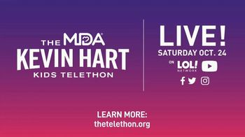 Muscular Dystrophy Association TV Spot, '2020 MDA Kids Telethon' Featuring Kevin Hart - Thumbnail 10