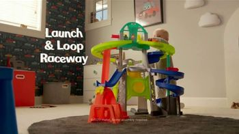 Fisher-Price Launch & Loop Raceway TV Spot, 'I Love Racing'