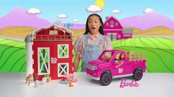 Barbie Sweet Orchard Farm Barn Playset TV Spot, 'Lend a Hand' - Thumbnail 1