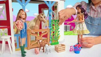 Barbie Sweet Orchard Farm Barn Playset TV Spot, 'Lend a Hand' - Thumbnail 3
