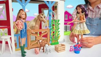 Barbie Sweet Orchard Farm Barn Playset TV Spot, 'Lend a Hand'