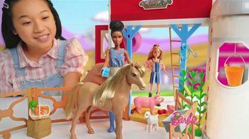 Barbie Sweet Orchard Farm Barn Playset TV Spot, 'Lend a Hand' - Thumbnail 5