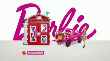 Barbie Sweet Orchard Farm Barn Playset TV Spot, 'Lend a Hand' - Thumbnail 8