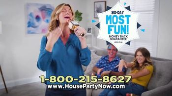 House Party Karaoke TV Spot, 'When You Want to Party: $29.99' - Thumbnail 9