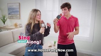 House Party Karaoke TV Spot, 'When You Want to Party: $29.99'