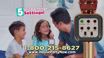 House Party Karaoke TV Spot, 'When You Want to Party: $29.99' - Thumbnail 7