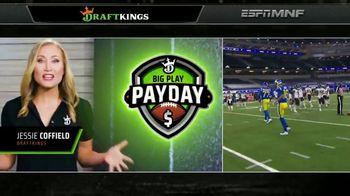 DraftKings Big Play Payday TV Spot, 'Ending NFL Week Seven' - 1 commercial airings