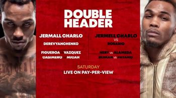 Showtime PPV TV Spot, 'Jermall Charlo vs. Derevyanchenko and Jermell Charlo vs. Rosario' - Thumbnail 5