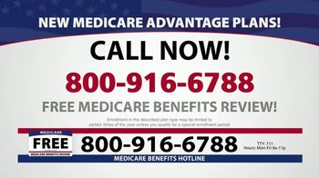 Medicare Benefits Helpline TV Spot, 'Attention: Medicare Advantage' - Thumbnail 1