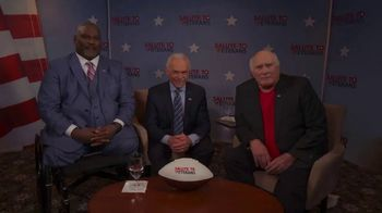 Salute to Veterans TV Spot, '2020 Patriot Day' Featuring Terry Bradshaw - Thumbnail 3