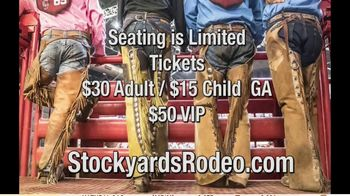 Stockyards Championship Rodeo TV Spot, '2020 Texas Cowboy Hall of Fame Ranch Rodeo' - Thumbnail 10