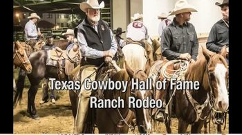 Stockyards Championship Rodeo TV Spot, '2020 Texas Cowboy Hall of Fame Ranch Rodeo' - Thumbnail 3