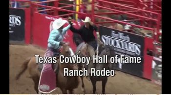 Stockyards Championship Rodeo TV Spot, '2020 Texas Cowboy Hall of Fame Ranch Rodeo' - Thumbnail 4
