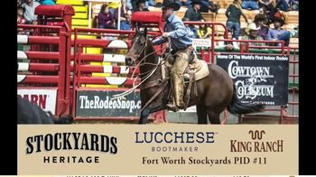 Stockyards Championship Rodeo TV Spot, '2020 Texas Cowboy Hall of Fame Ranch Rodeo' - Thumbnail 8