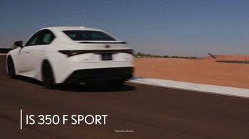 Lexus IS 350 F Sport TV Spot, 'Barrett-Jackson: Sticks to the Track' Featuring Townsend Bell [T1] - Thumbnail 2
