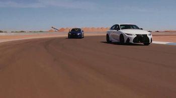 Lexus IS 350 F Sport TV Spot, 'Barrett-Jackson: Sticks to the Track' Featuring Townsend Bell [T1] - Thumbnail 4