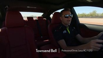 Lexus IS 350 F Sport TV Spot, 'Barrett-Jackson: Sticks to the Track' Featuring Townsend Bell [T1] - Thumbnail 5