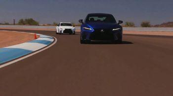 Lexus IS 350 F Sport TV Spot, 'Barrett-Jackson: Sticks to the Track' Featuring Townsend Bell [T1] - Thumbnail 8