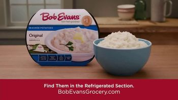 Bob Evans Grocery Original Mashed Potatoes TV Spot, 'What's Your Favorite Dinner Side' - Thumbnail 8