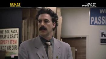 Amazon Prime Video TV Spot, 'Borat Subsequent Moviefilm: Not Alone'