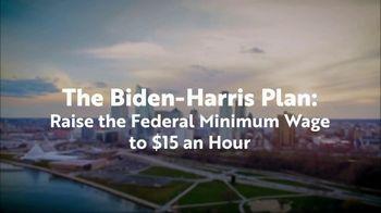 Biden for President TV Spot, 'Raise in Minimum Wage' - Thumbnail 6