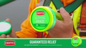 O'Keeffe's Working Hands TV Spot, 'Constant Washing: Lip Repair'