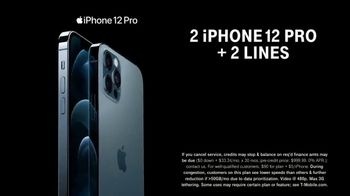 T-Mobile TV Spot, 'A Moment Like This: Preorder: Two iPhone 12 Pro Max' Song by Surfaces - Thumbnail 7