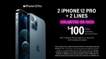 T-Mobile TV Spot, 'A Moment Like This: Preorder: Two iPhone 12 Pro Max' Song by Surfaces - Thumbnail 8