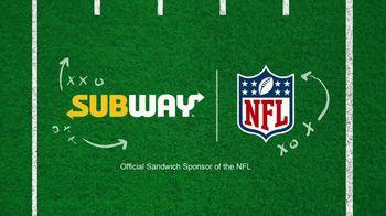 Subway TV Spot, 'NFL: Flag Football: Freshest Plays of the Week' - Thumbnail 7