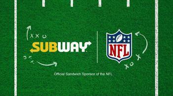 Subway TV Spot, 'NFL: Flag Football: Freshest Plays of the Week' - Thumbnail 2