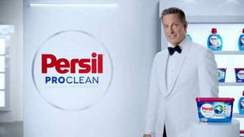 Persil ProClean TV Spot, 'Descubre una limpieza profunda' con Peter Hermann [Spanish] - 3455 commercial airings