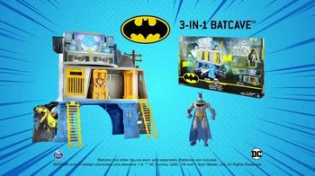 Batman 3-in-1 Batcave TV Spot, 'Three Stackable Levels' - Thumbnail 8