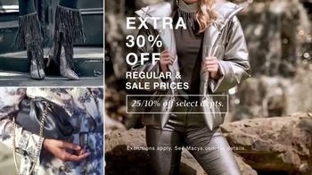 Macy's Friends & Family TV Spot, 'Get Ready For the Holidays: Extra 30% Off' - Thumbnail 3