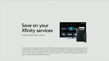 XFINITY Mobile TV Spot, 'Your Own Way: Save on Other Xfinity Services and Up to $400 Off' - Thumbnail 7