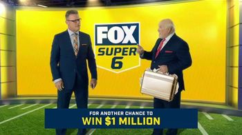 FOX Sports Super 6 TV Spot, 'Win $1 Million of Terry's Money' Featuring Terry Bradshaw, Howie Long - 416 commercial airings