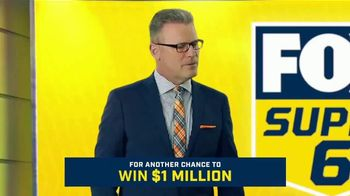 FOX Sports Super 6 TV Spot, 'Win $1 Million of Terry's Money' Featuring Terry Bradshaw, Howie Long