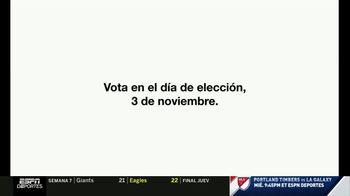 I Am a Voter TV Spot, 'Fanáticos: registrate' [Spanish] - Thumbnail 7