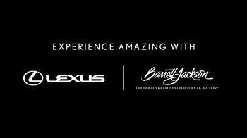 Lexus IS 350 F Sport TV Spot, 'Barrett-Jackson: Lexus Driving Signature' Featuring Townsend Bell [T1] - Thumbnail 1