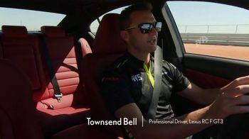 Lexus IS 350 F Sport TV Spot, 'Barrett-Jackson: Lexus Driving Signature' Featuring Townsend Bell [T1] - Thumbnail 5